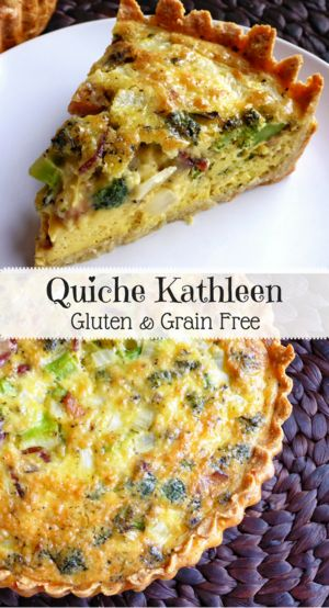 Quiche Kathleen   Personally Paleo
