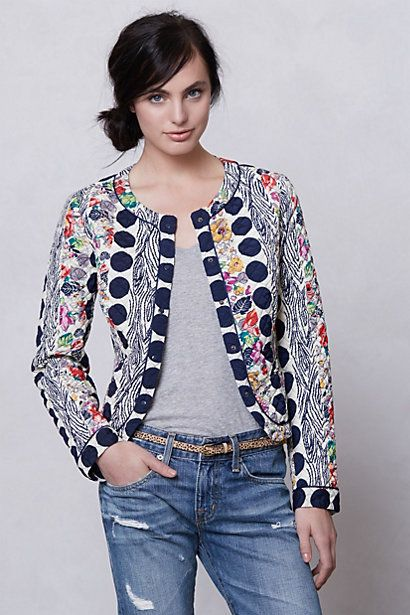 Salta Quilted Jacket #anthropologie