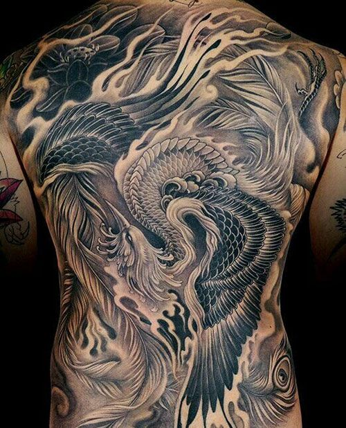 69 Best Phoenix Tattoos For Men Cool Designs Ideas 2019 Update