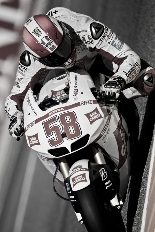 Marco Simoncelli Tribute by Efecreata Photography, via 500px