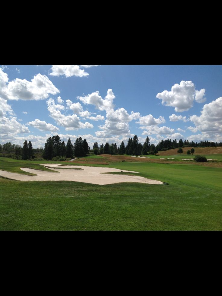 2016-07. Circling Raven Golf Course in Worley Idaho