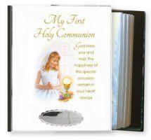 First Holy Communion Metal Photo Album.