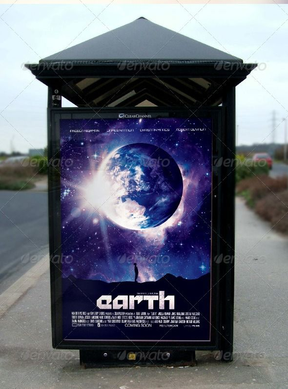 Earth Movie Poster Template Download