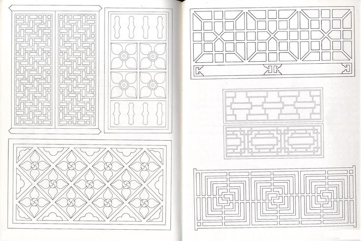 Chinese Designs And Patterns Black And White Pattern primer daniel sheets