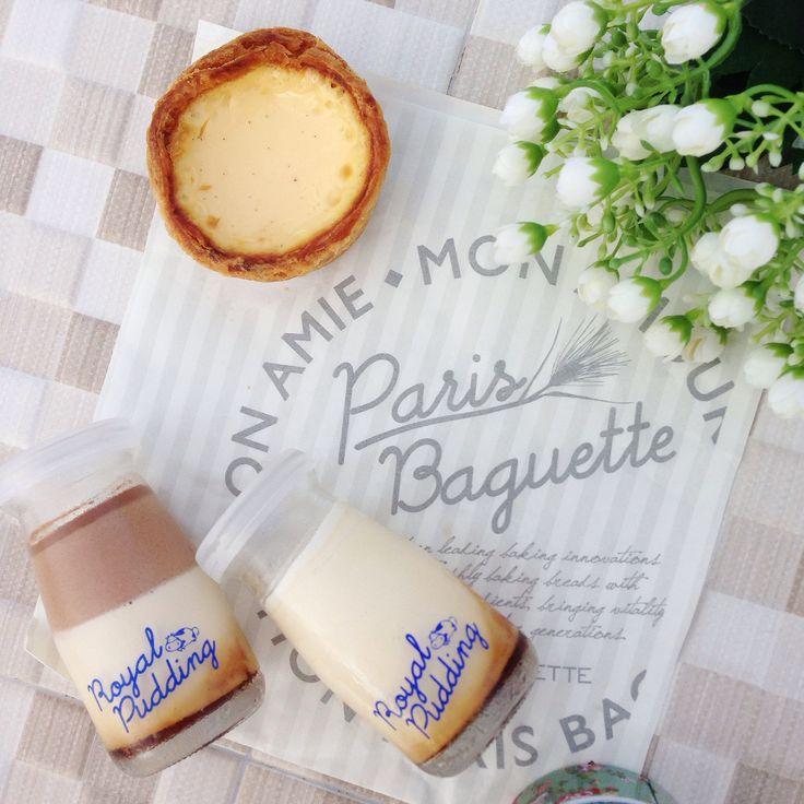 Royal Pudding - Paris Baguette