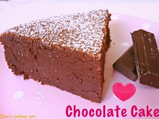 Jenn's cooking: Gâteau au Chocolat et Mascarpone Sans Beurre et Sa...