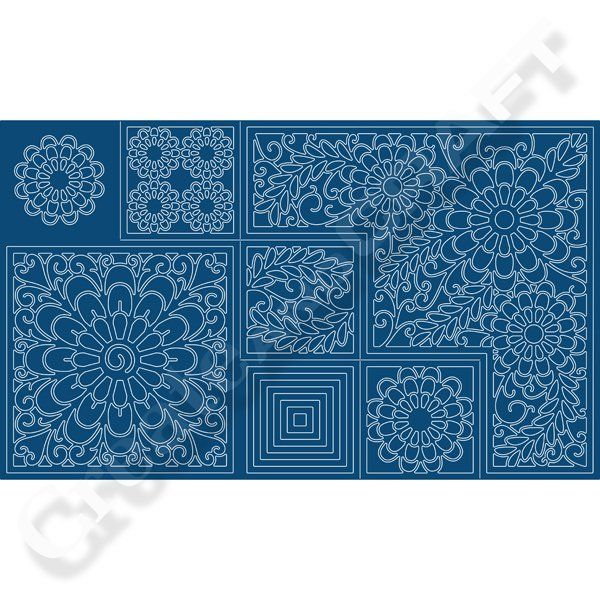 Tattered Lace Kaleidoscope Shaped Card Die Set No Colour