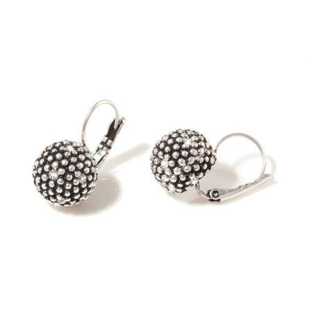 A&C Earring - Diamond Ball French Clip - Various