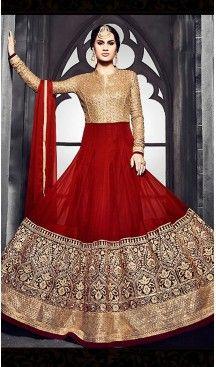 Brick #Red Color #Georgette #Long Anarkali Salwar #Stitched Suits with #Dupatatta #anarkali , #salwar , #kameez , #dresses , #suits , #designer , #colors , #pinterest , #Shopping , #fashion , #boutique , #online , #heenastyle , #indian , #style , @heenastyle , #churidar , #likes , #abaya , #pakistani, #clothing , #womens , #mens , #kids , #boys , #girls