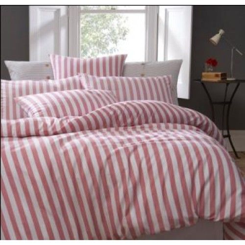 Jigsaw Newquay stripe duvet cover - The Linen House