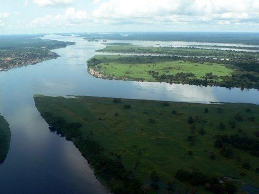 Congo River - Congo Kinshasa (commonly known as Democratic Republic of Congo)