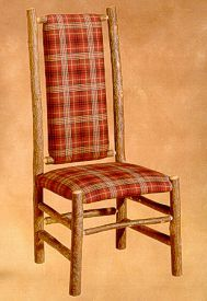 High Back Dining Chair - Old Hickory Furniture - Lodge Craft