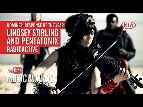 Lindsey Sterling and Pentatonix's version of Radioactive (Imagine Dragons) was nominated for YOUTUBE MUSIC AWARDS, RESPONSE OF THE YEAR! Want to vote for this video? Simple, just hit the share button. More info here: https://www.youtube.com/youtube?feature=etp-gs-mau