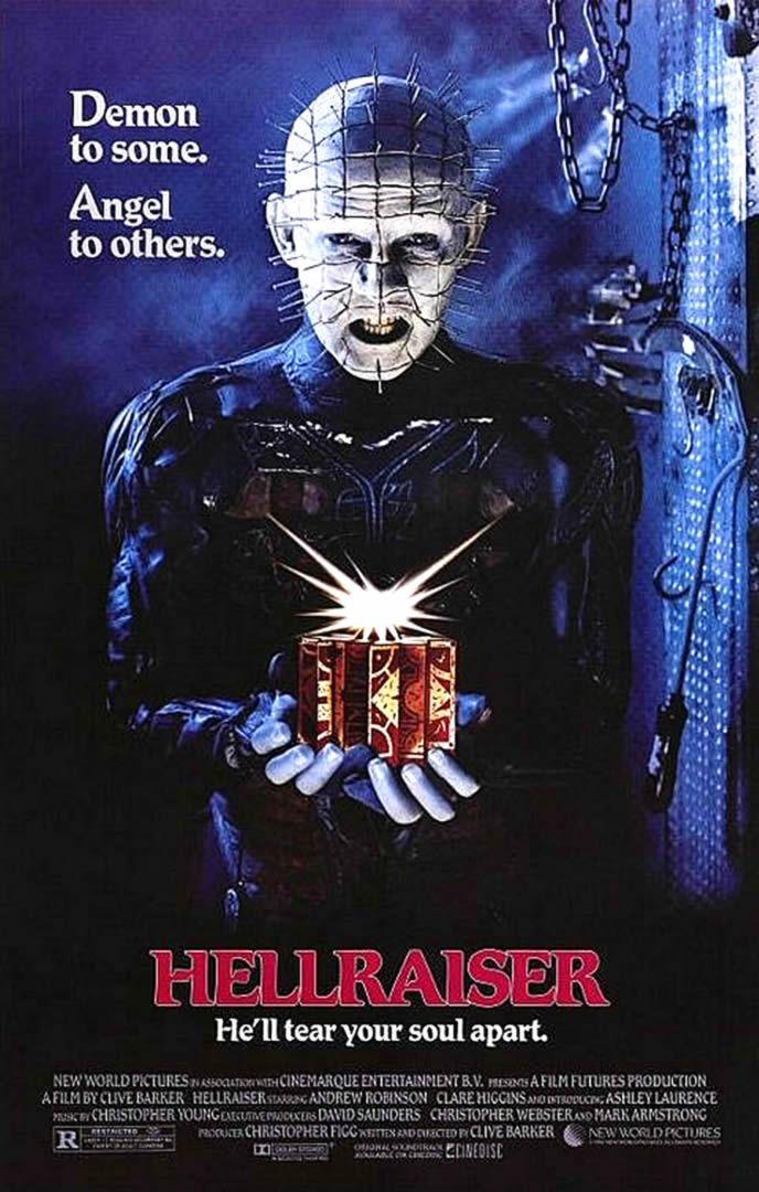 Hellraiser (1987). One of my favorite series