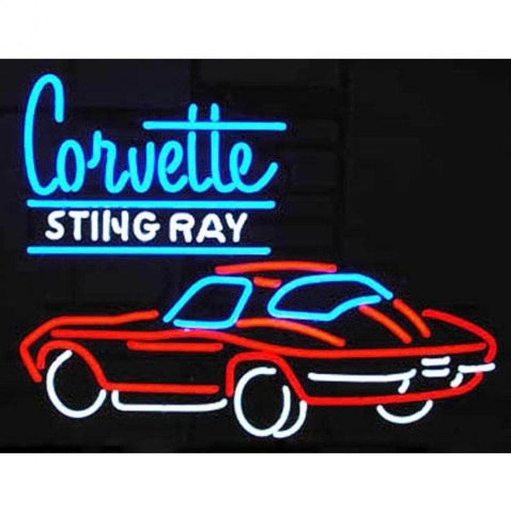 Corvette Neon Lights Stingray Html Autos Post