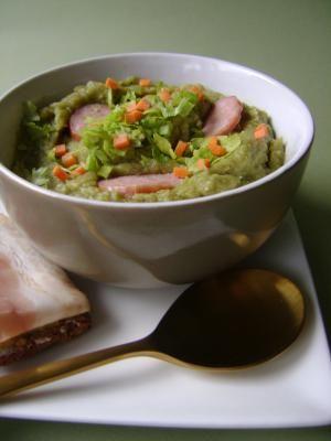 Fancy a Bowl of Snert? Try Our Easy Dutch Split Pea Soup Recipe: A bowl of snert.