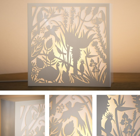 Gorgeous lightbox from Tintown