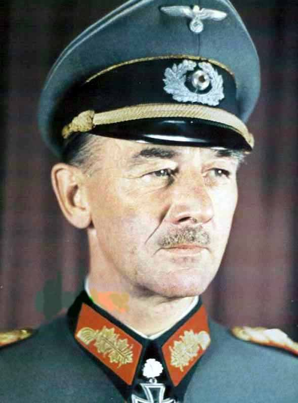 General der Panzertruppe Hans Emil Richard Freiherr von FUNCK (23 December 1891 – 14 February 1979) Knight's Cross on 15 July 1941 as Generalmajor and commander of the 7. Panzer-Division; 278th Oak Leaves 22 August 1943 on 22 August 1943 as Generalleutnant and commander of 7. Panzer-Division