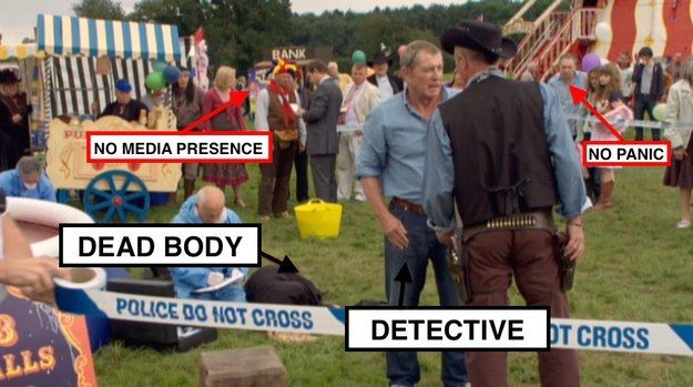 """Why isn't the public alarmed after the murder? 