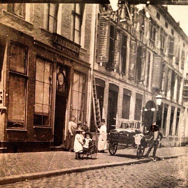 Boschstraat Maastricht around 1900 - photo - Maastricht Region Life -
