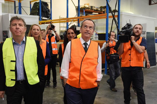 Labor leader Bill Shorten has made a number of announcements this week aimed at helping young people into work or education.