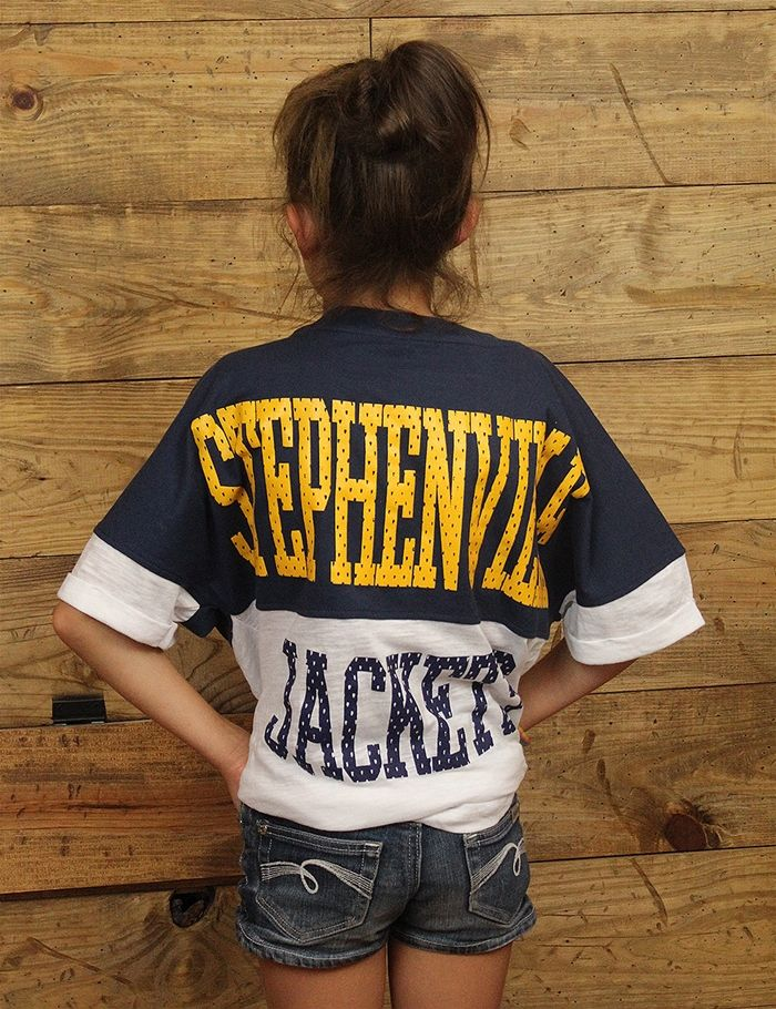 Hey kids Stephenville Jackets look good on game day and now you can too.