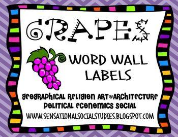 g r a p e s social studies