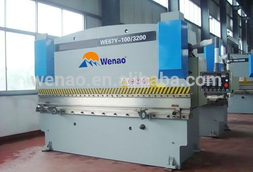 WC67K-160/3200 CNC hydraulic bending machine/bending machine sheet metal press brake/numeric-control bending machine