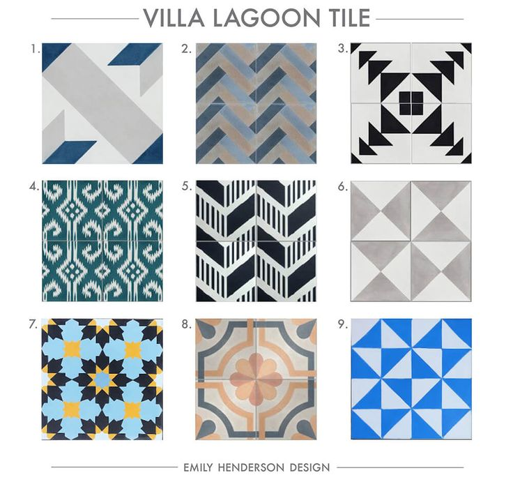 212 best Cement Tile images on Pinterest | Cement tiles, 4x4 and ...