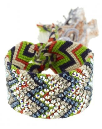 SILVIA TCHERASSI, Double Wayuu Bracelet, $240