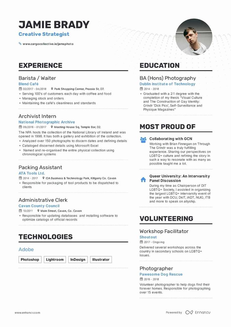 25 Resume format for Freshers in 2020 Resume format for