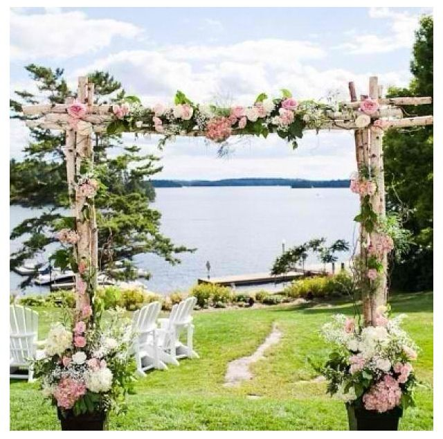 Wedding Altar Trellis: 34 Best Images About Flower Arch On Pinterest