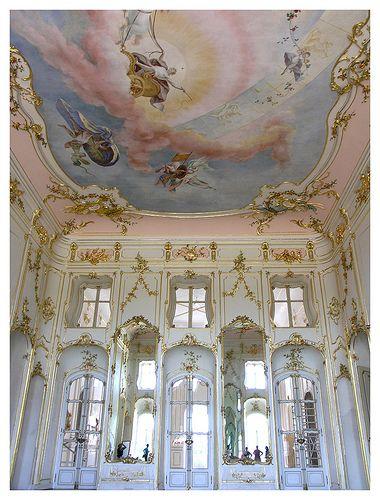 Inside the Esterhazy palace  - Fertőd, Hungary