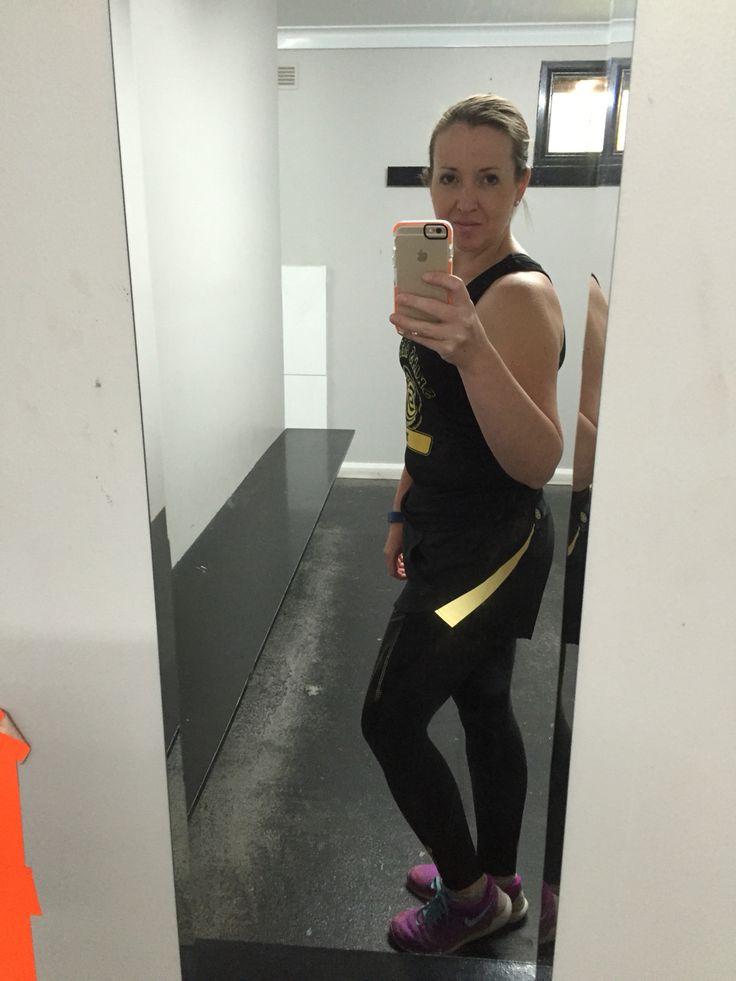 Head to toe in @skinsau beat Pilates ready