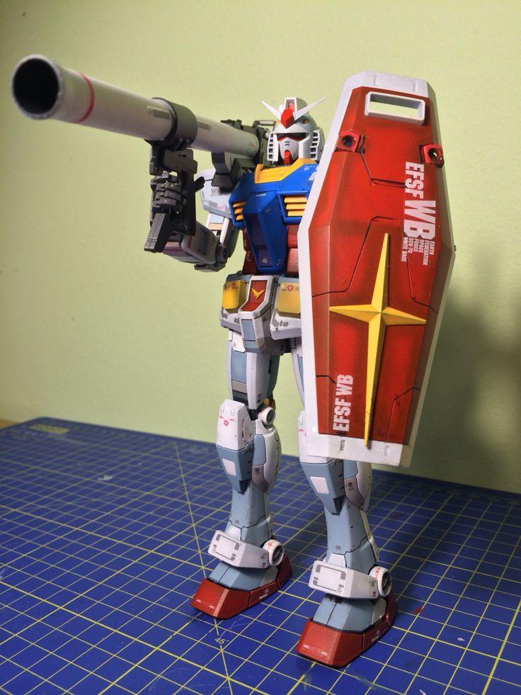 Bandai MG RX-78-2 Gundam Ver.3.0 - 2