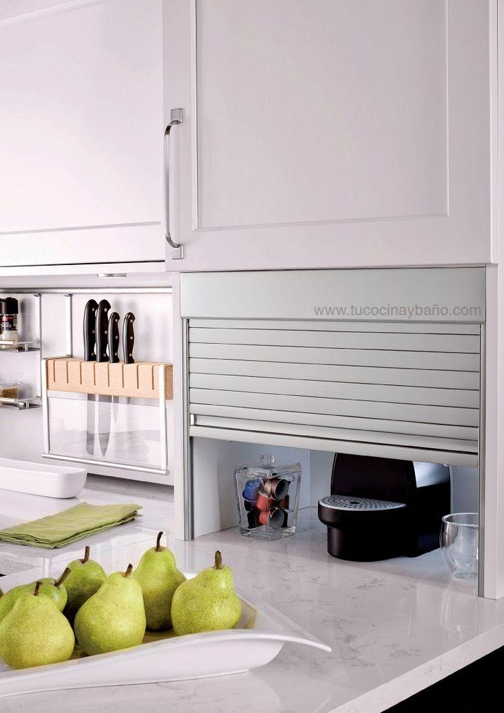 20 best mueble persiana en la cocina images on pinterest for Muebles de cocina alve