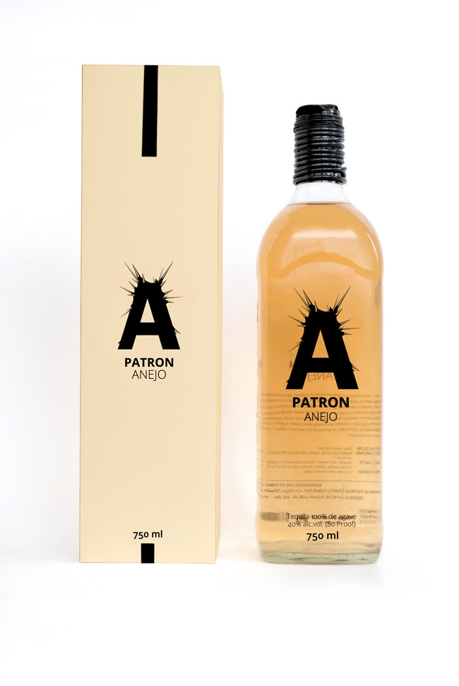 Packaging of the World: Creative Package Design Archive and Gallery: Tequila PATRON (Concept)