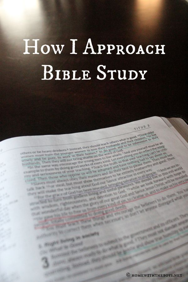 One mom's approach to Bible study time, putting the Word first to let God speak!