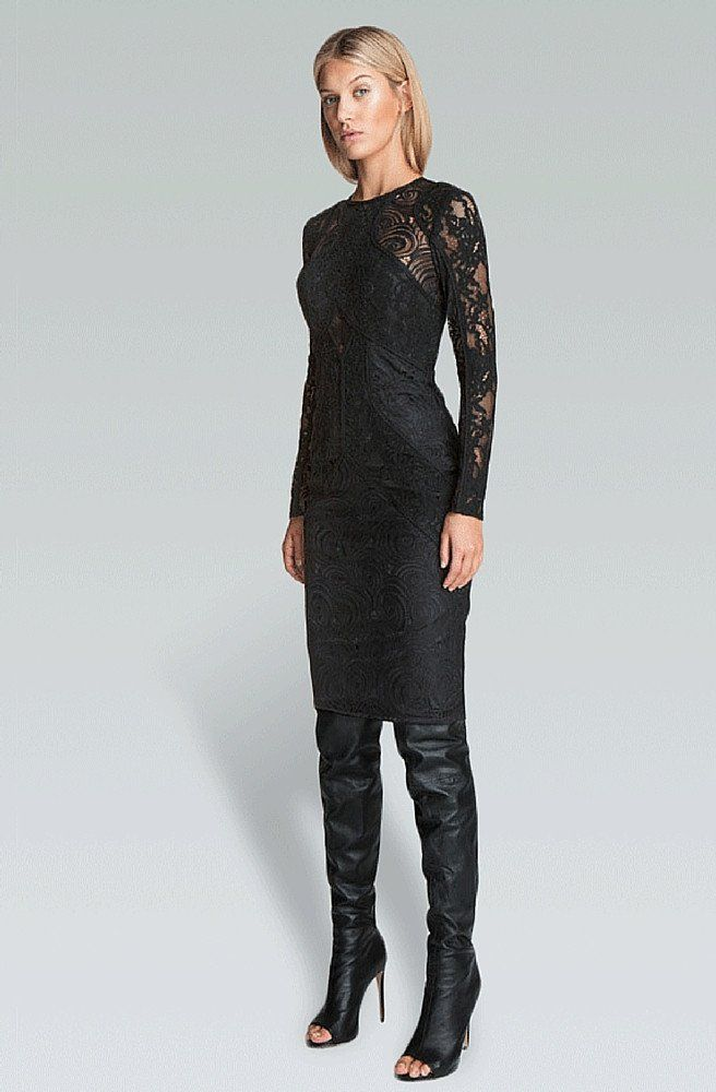 Path Dress - Black - Bless'ed Are The Meek | Picpoket