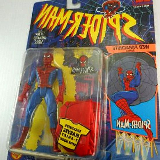 Buy Spider-Man Parachute Animated Series Action Figure: Action Figures. Spiderman with Web Parachute is Part of the Spider-Man 5 inches tall action figure. Amazon.in: Buy Spider-Man The Animated Series Spiderman with Web Parachute 5 Action Figure (1994 Toy Biz) online at low price in India on Amazon.in. #hero #kids #SpiderMan #toys #Marvel #figurines #Collectibles #gifts