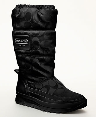 I have these COACH boots ... They are so warm and comfy!!!