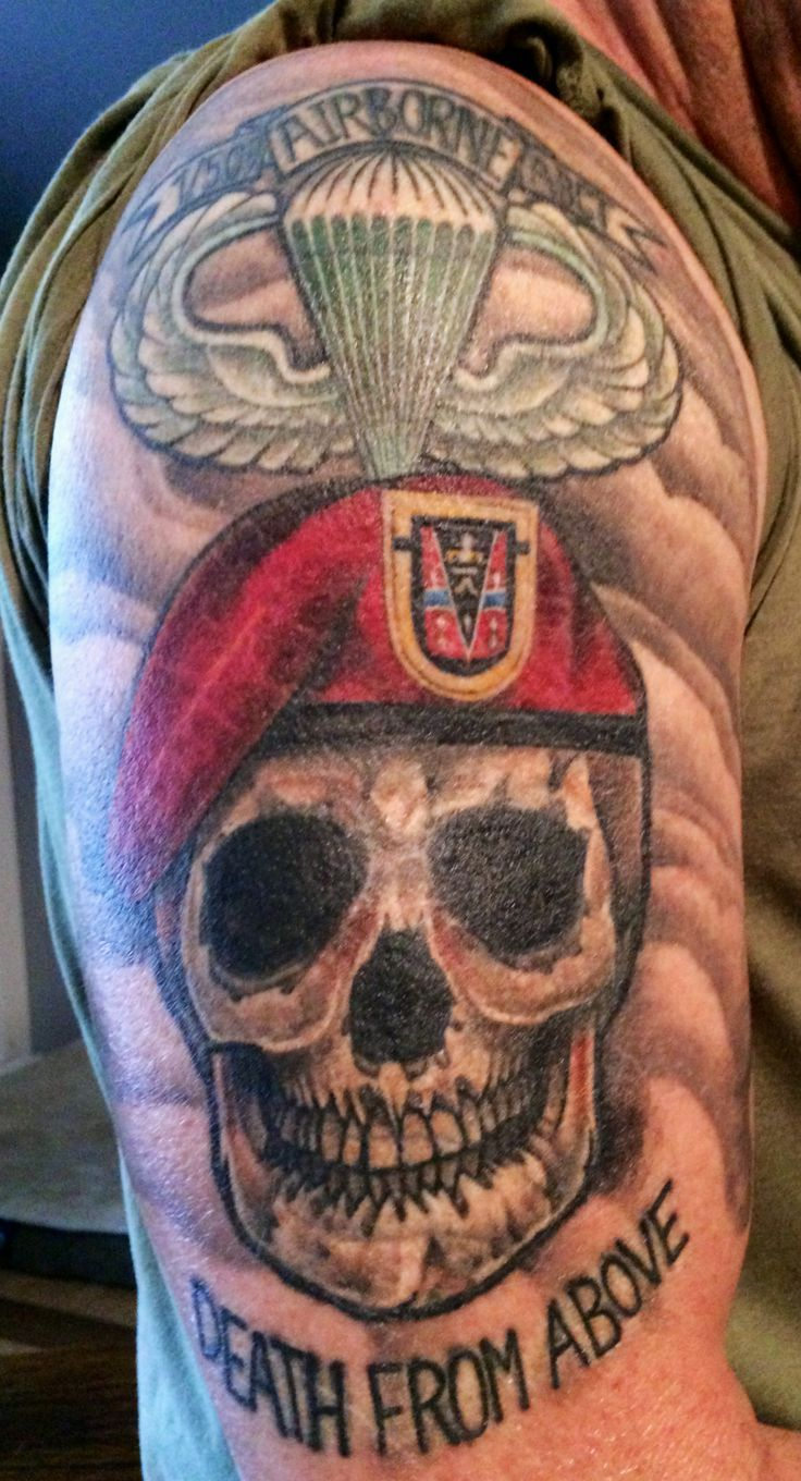 33 best Army Ranger Tattoos images on Pinterest | Army ranger, Army tattoos and Military tattoos
