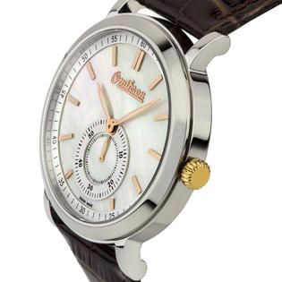 $69.99. Your savings - $829.01! Omikron Omikron Harrier Men's Vintage Styled Swiss Made Watch, Mother of Pearl Dial, Sapphire Crystal.
