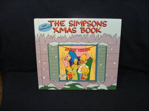 Simpsons, The Simpsons, Simpsons Book, Christmas Book, Lisa Simpson, Bart Simpson, Homer Simpson, 1990, Christmas Story, Simpsons TV show by BobbysCollectibles on Etsy https://www.etsy.com/listing/569383861/simpsons-the-simpsons-simpsons-book