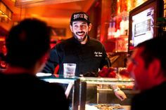 Jason Nagy is the raw bar chef at Méchant Boeuf Restaurant in Old Montreal.