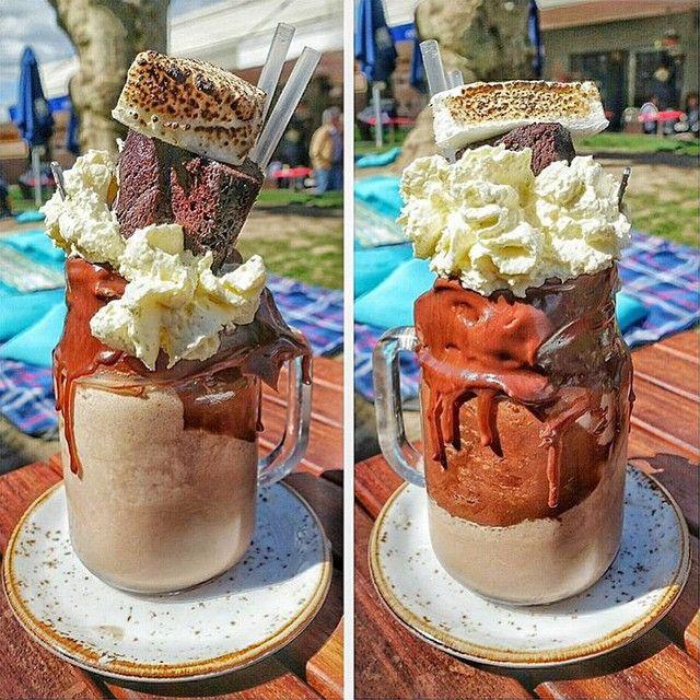 The Muddy Pat, as viewed by @fran_vs_food @Patissez#Canberra#Freakshakes#milkshakes#desserts#travel#food#cafe#Australia#