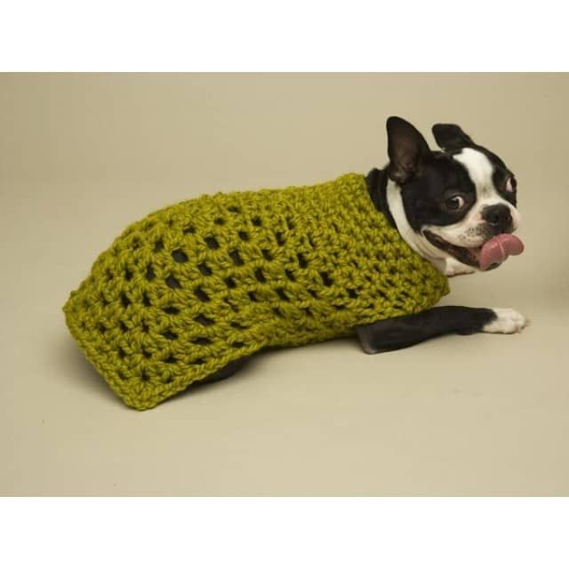 Granny Square Dog Sweater Pattern Crochet Crochet Crochet