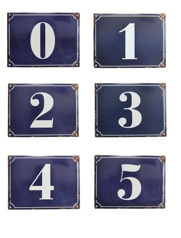 enamel house numbers: Email Zahlen, Numbers Head, Enamels Numbers, 123 S, Enamels Houses, French Houses T, Houses T Numbers, Ceramics Numbers, Houses Numbers
