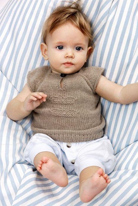 Babyundertrøje med krone - Hendes Verden