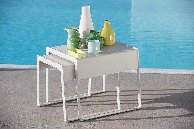These Chill Out Tables are perfect for beside your sun lounge or outdoor sofa.